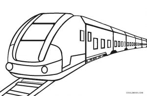 railroad tracks coloring pages | Free Printable Train Coloring Pages For Kids | Cool2bKids