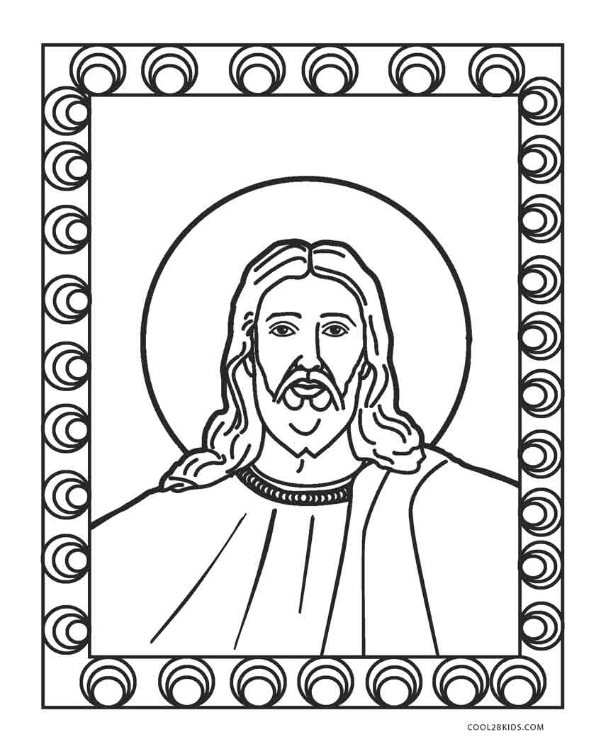 printable coloring pages jesus - photo#4