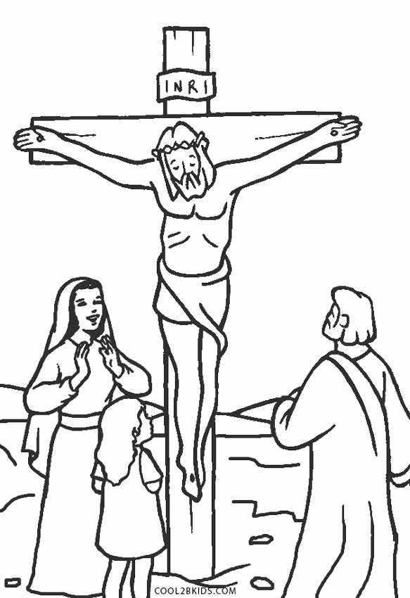 Free Printable Jesus Coloring Pages For Kids Cool2bKids