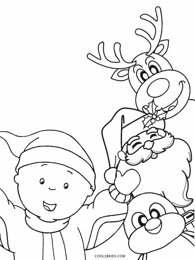 cool coloring pages christmas coloring pages