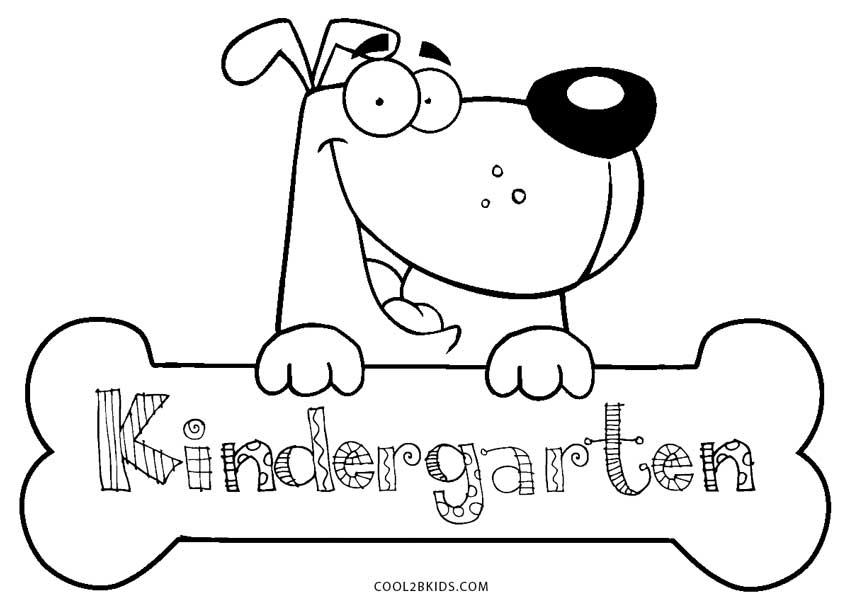kindergarten coloring pages school - photo#7