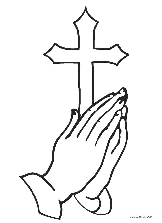 cross coloring pages for free - photo#8
