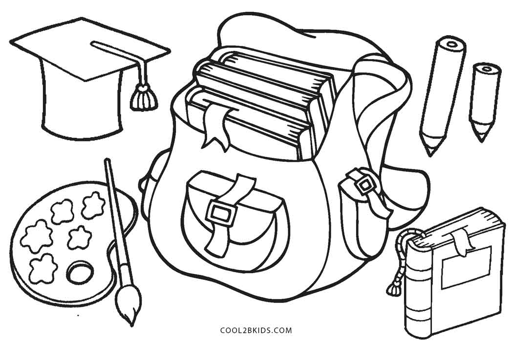 kindergarten coloring pages school - photo#18