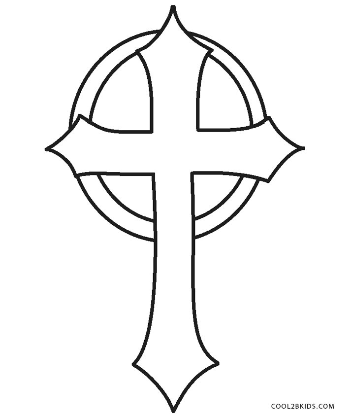 The Cross Coloring Pages - Photos Coloring Page Ncsudan.Org