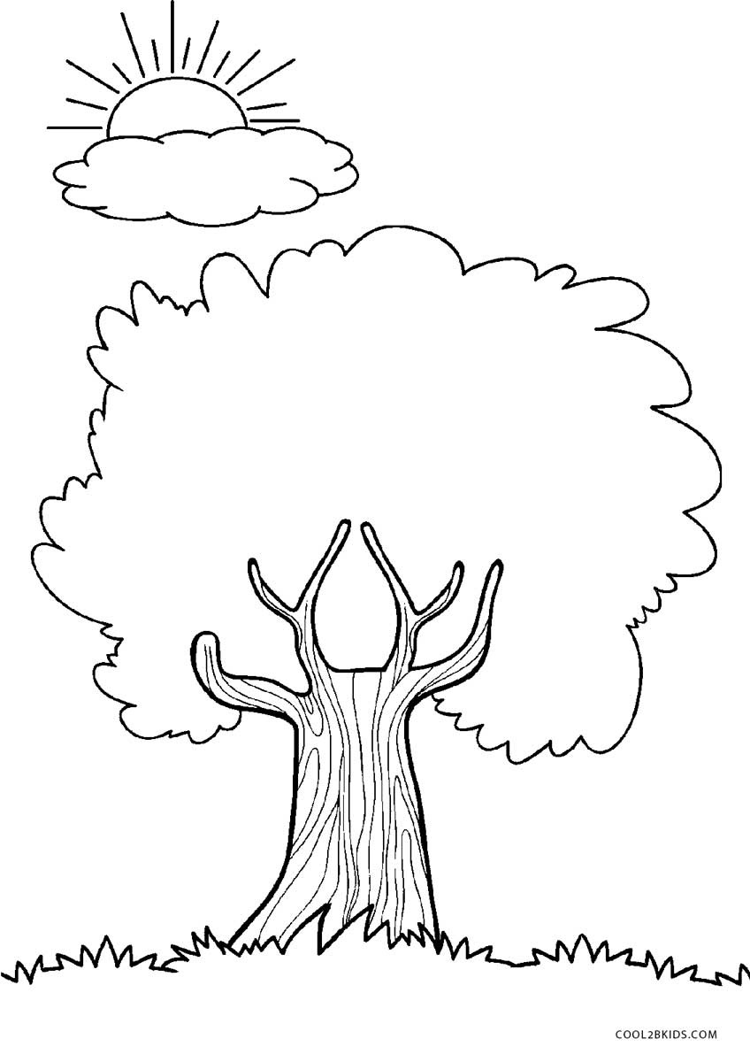 Striking image with tree printable