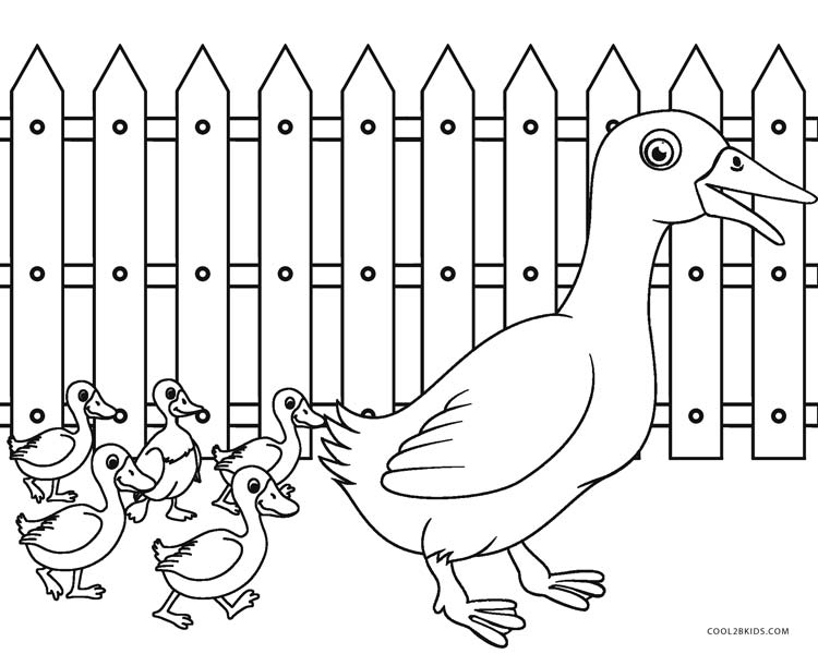 farm animals and coloring pages - photo#18