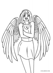 Free Printable Angel Coloring Pages For Kids Cool2bkids