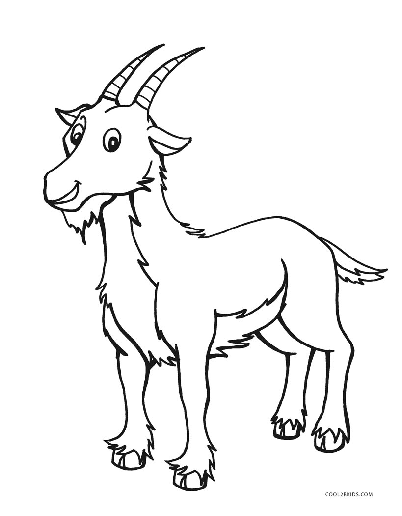 Free Printable Farm Animal Coloring Pages For Kids | Cool2bKids