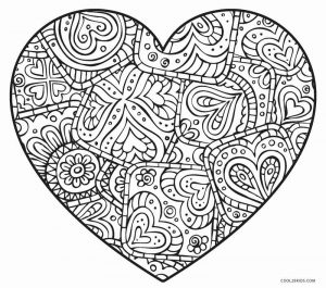 free heart with wing coloring pages | Free Printable Heart Coloring Pages For Kids | Cool2bKids