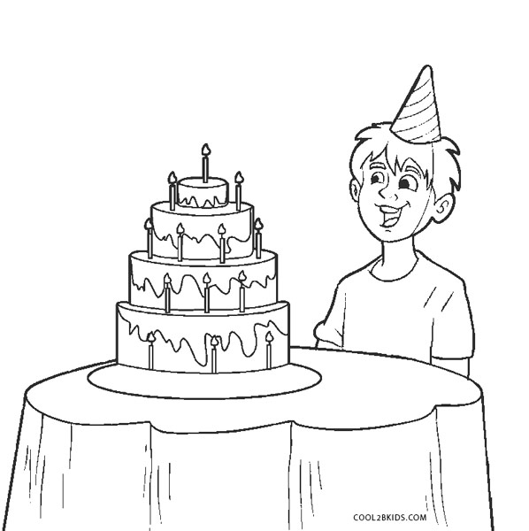 Free printable boy coloring pages for kids cool2bkids for Birthday boy coloring pages