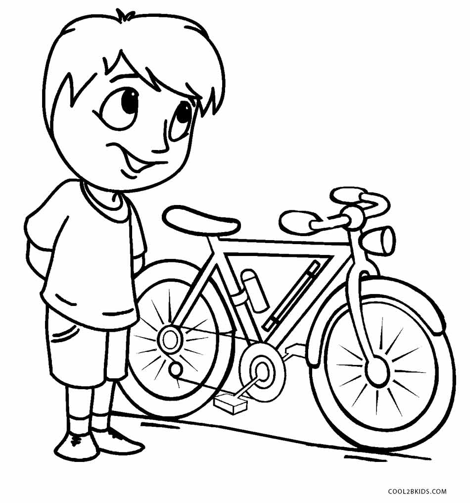 coloring pages kids boys - photo#18