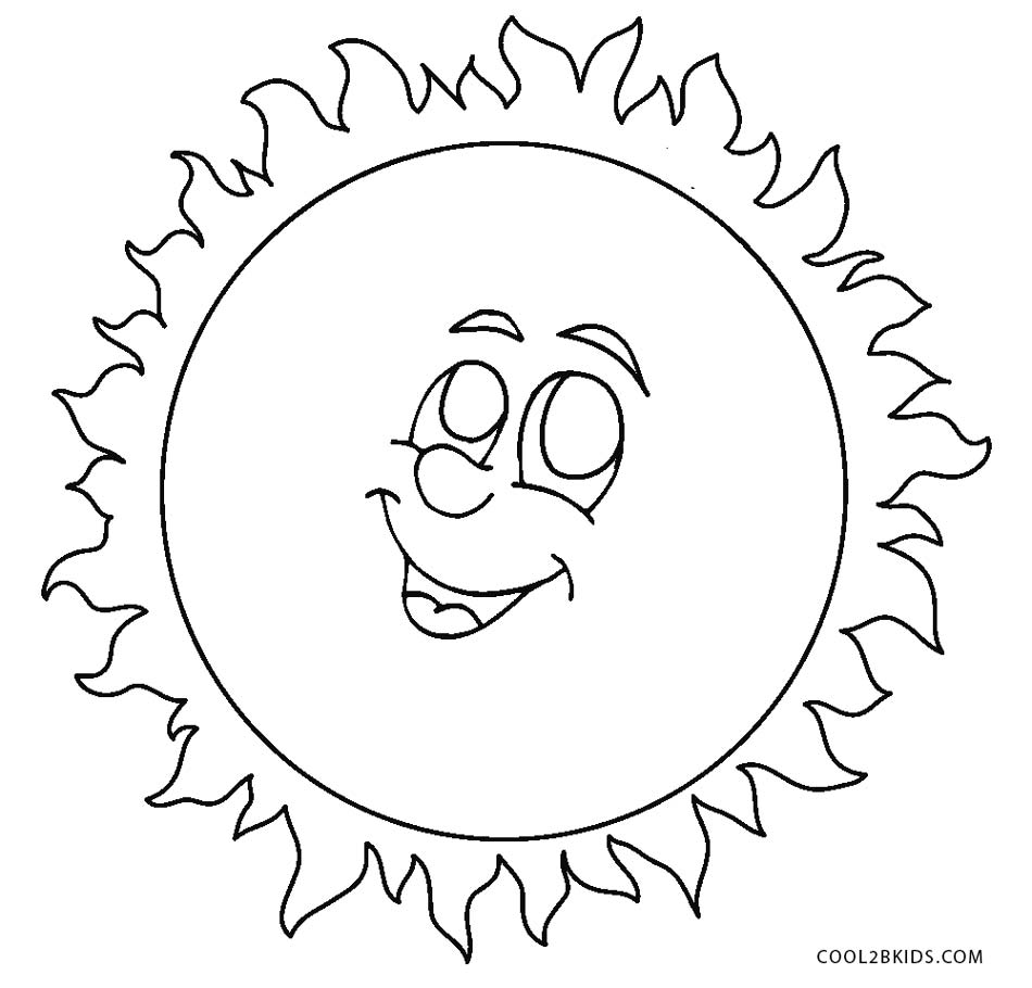 Free Printable Sun Coloring Pages For Kids | Cool2bKids