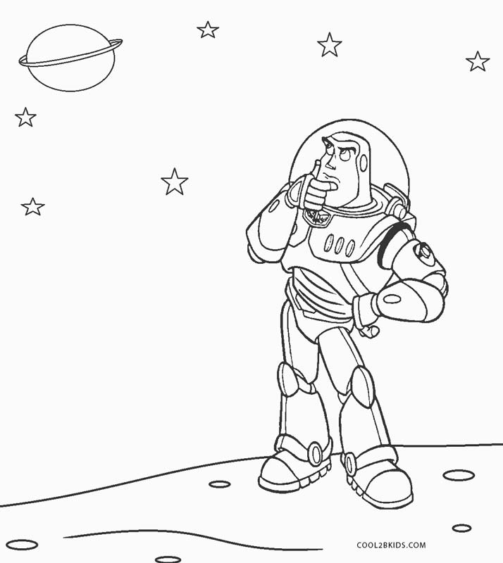 free coloring pages of buzz lightyear | Free Printable Buzz Lightyear Coloring Pages For Kids ...