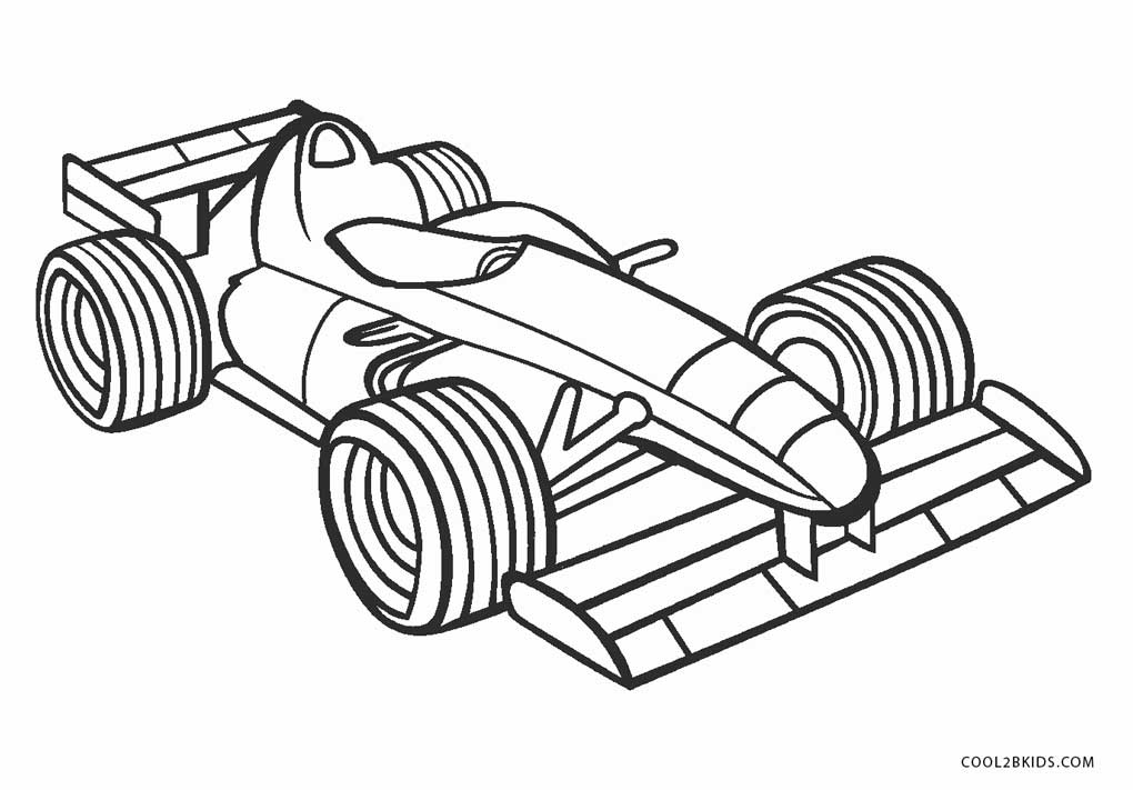 Free Printable Cars Coloring Pages For Kids