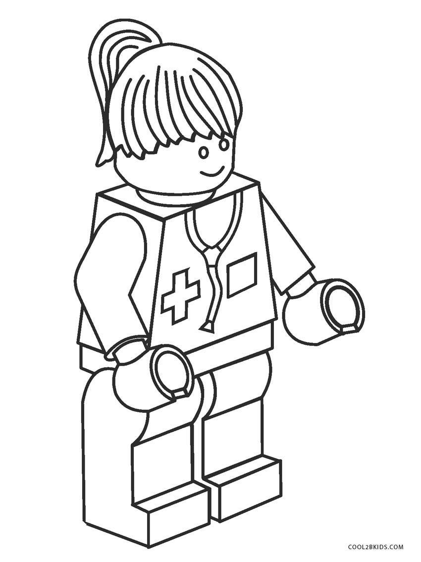 Free Printable Lego Coloring Pages | Paper Trail Design | 1134x850