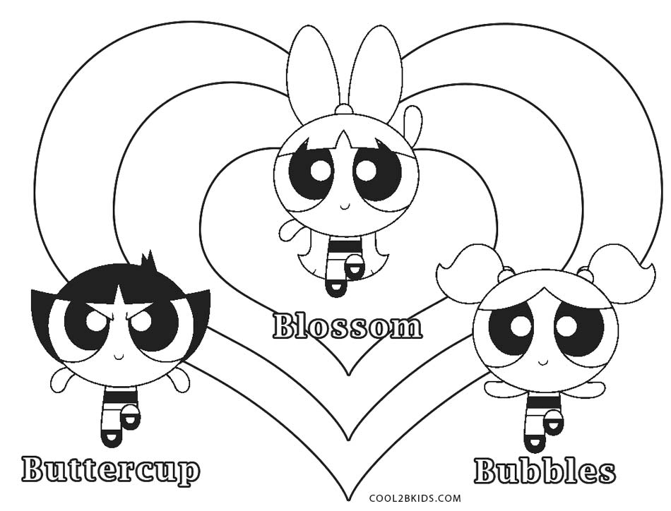 powerpuffgirls coloring pages - photo#26