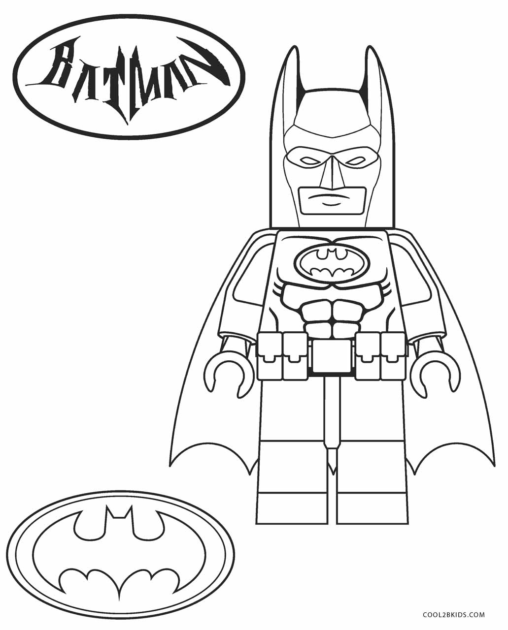 Free Printable Lego Coloring Pages