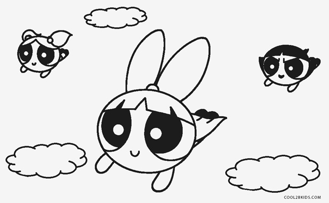 Free Printable Powerpuff Girls Coloring Pages | Cool2bKids