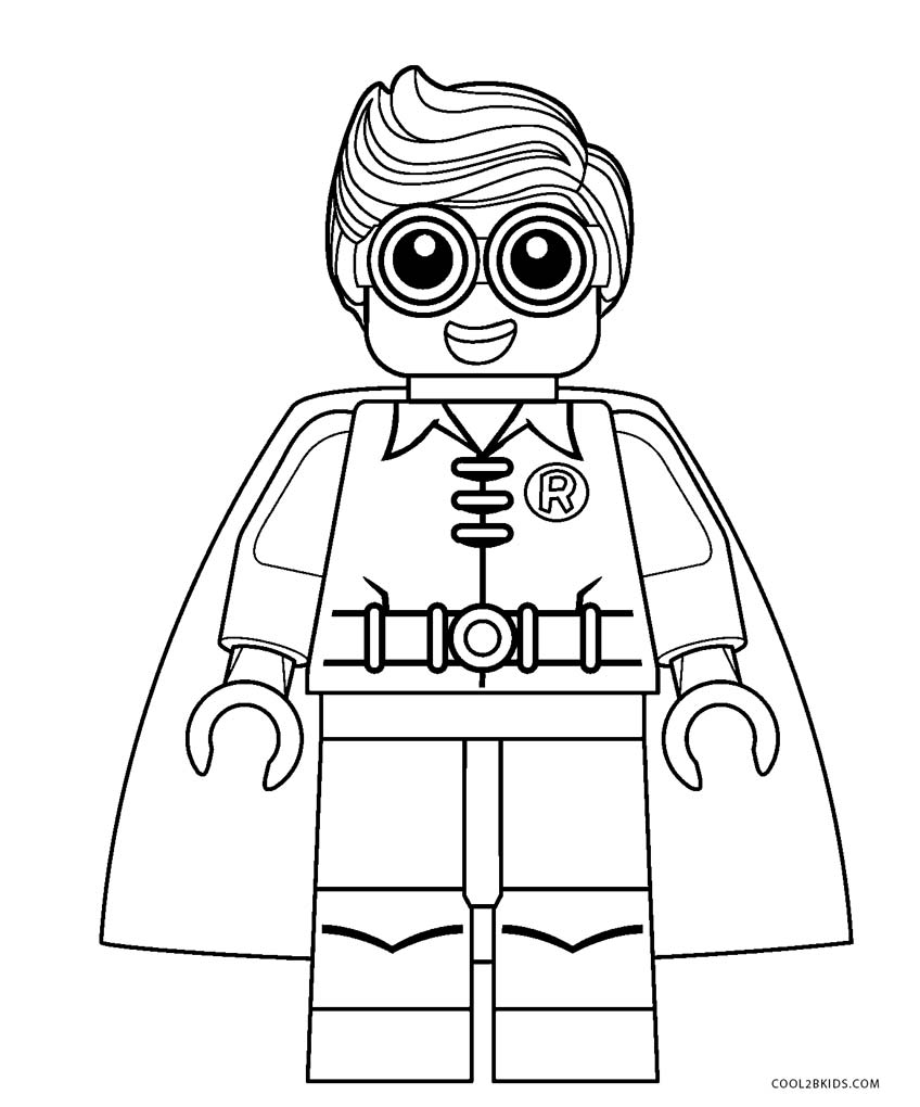 lego coloring pages - photo#9