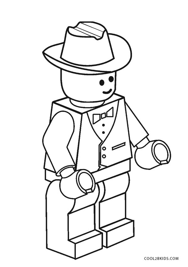 Printable Lego Coloring Pages
