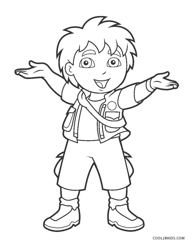 Free Printable Diego Coloring Pages For Kids Cool2bkids