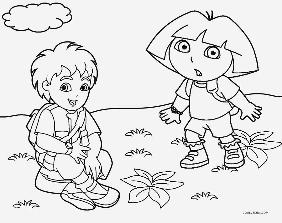Free Printable Diego Coloring Pages For Kids | 713x900