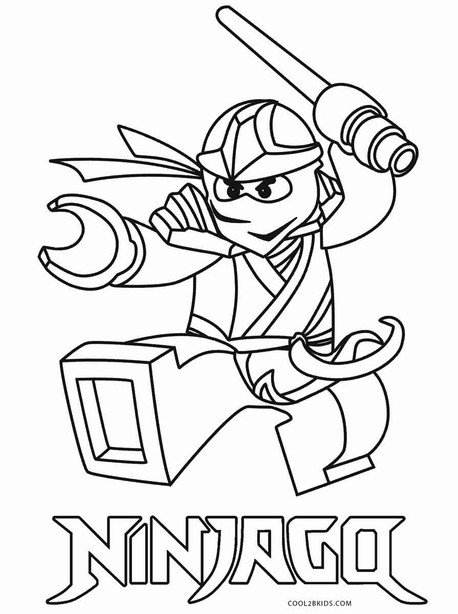 free downloadable coloring pages | Free Printable Ninjago Coloring Pages For Kids | Cool2bKids