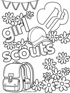 girl scout birthday coloring pages | Free Printable Girl Scout Coloring Pages For Kids | Cool2bKids