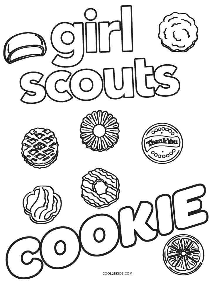 - Free Printable Girl Scout Coloring Pages For Kids
