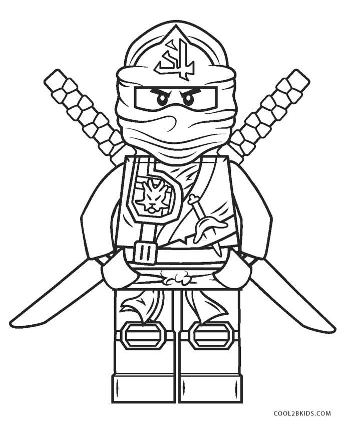 Free Printable Ninjago Coloring