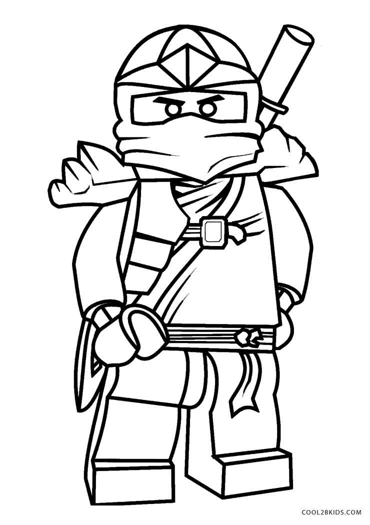 Ninjago coloring pages online ~ Free Printable Ninjago Coloring Pages For Kids | Cool2bKids