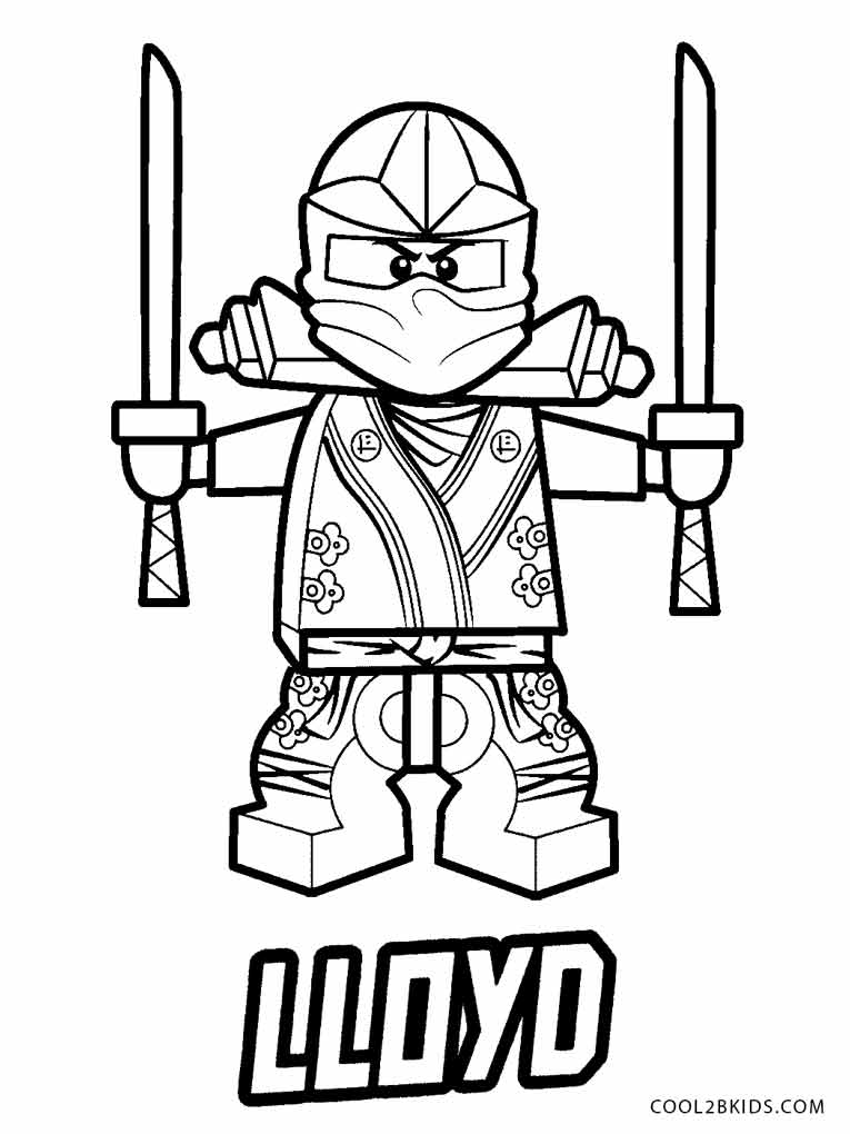 Free Printable Ninjago Coloring Pages For Kids | Cool2bKids