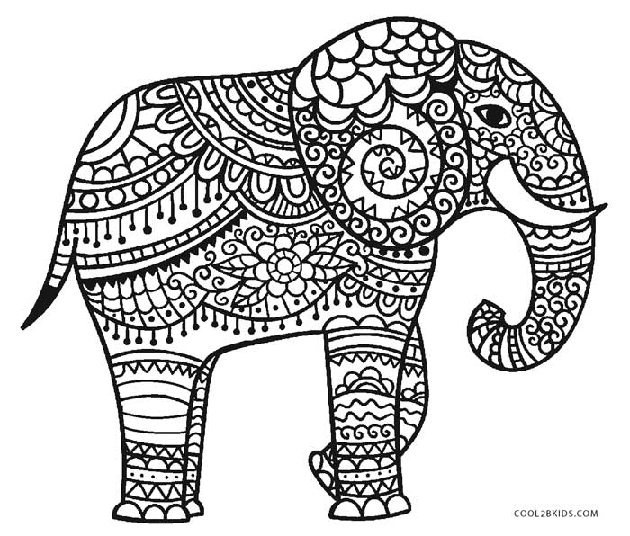 Free Printable Elephant Coloring Pages For Kids Cool2bkidsrhcool2bkids: Cool Elephant Coloring Pages At Baymontmadison.com