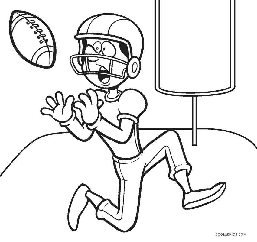 - Free Printable Football Coloring Pages For Kids