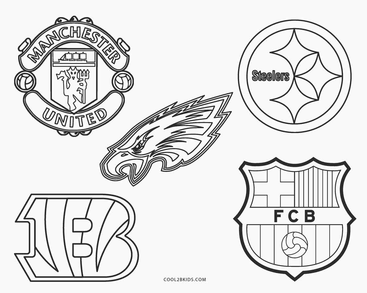 Free printable football coloring pages for kids cool2bkids for Nfl team coloring pages