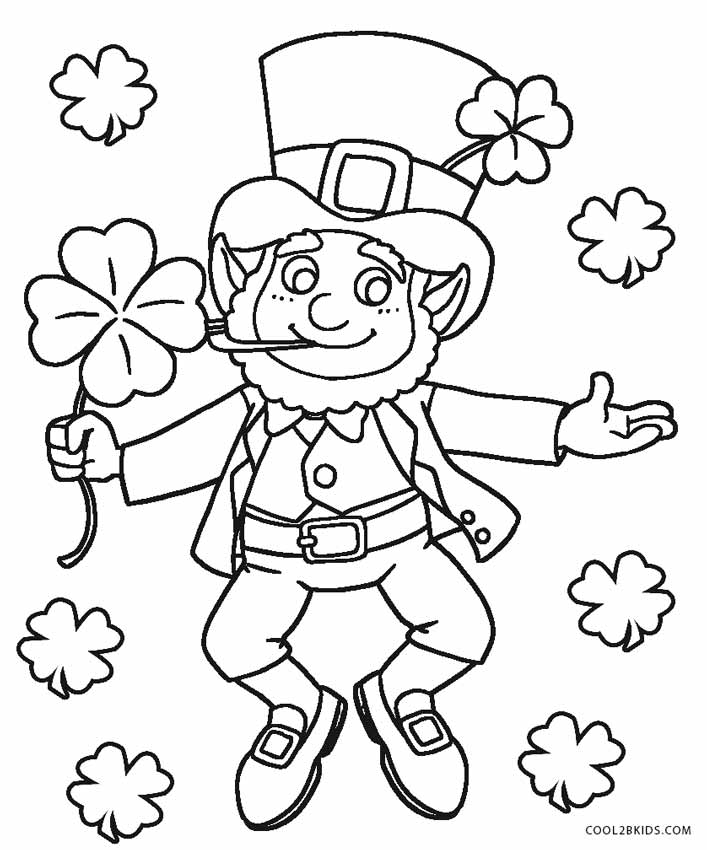 leprachauns coloring pages - photo#15