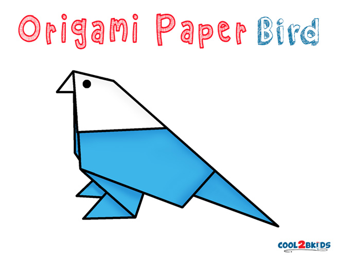 Step By Step Instructions How To Make Origami Bird. Stock Vector ... | 500x655