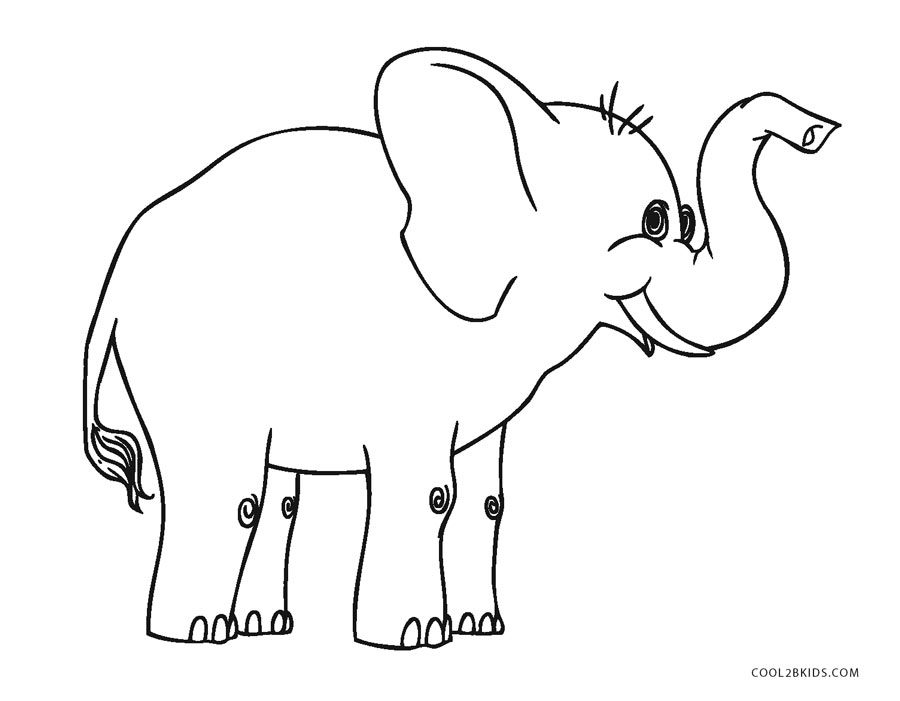 picture regarding Printable Elephant named Totally free Printable Elephant Coloring Webpages For Youngsters Neat2bKids