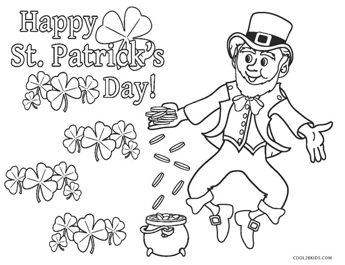 Leprechaun Coloring Page #2 | Coloring pages, Leprechaun pictures ... | 537x700