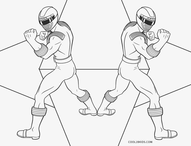 Free Printable Power Ranger Coloring Pages For Kids Cool2bkids