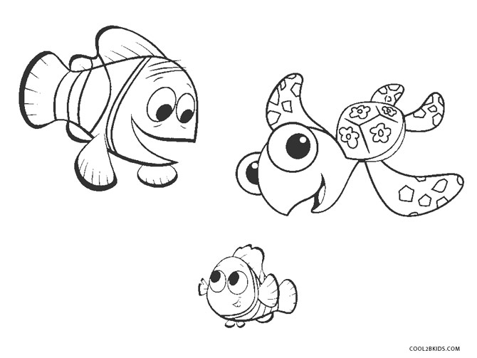 Free Printable Nemo Coloring Pages For Kids | Cool2bKids