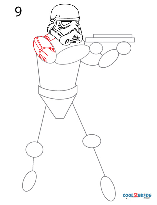 How To Draw A Stormtrooper Step By Step Pictures Cool2bkids