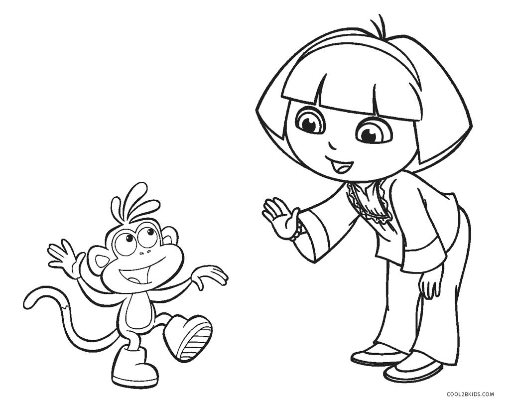 Free Princess Dora Coloring Pages, Download Free Clip Art, Free ... | 807x1020