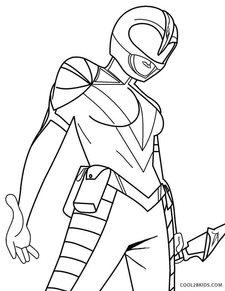 - Free Printable Power Ranger Coloring Pages For Kids