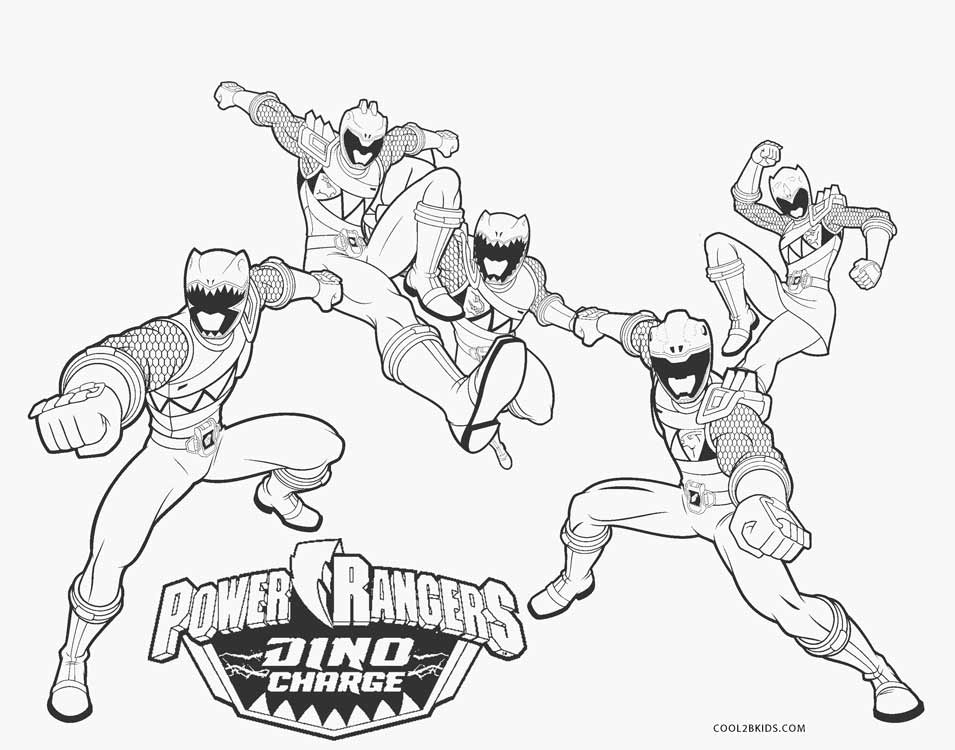 Free Printable Power Ranger Coloring Pages For Kids | Cool2bKids