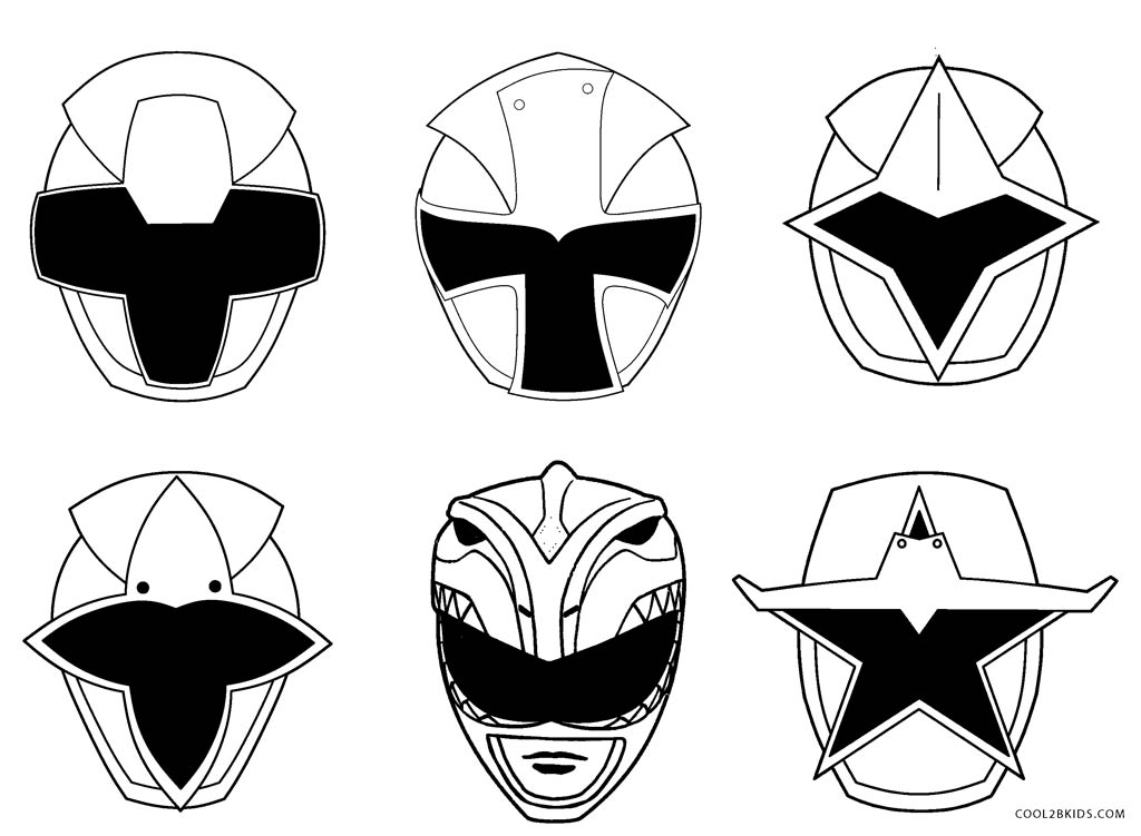 Free Printable Power Ranger Coloring Pages For Kids
