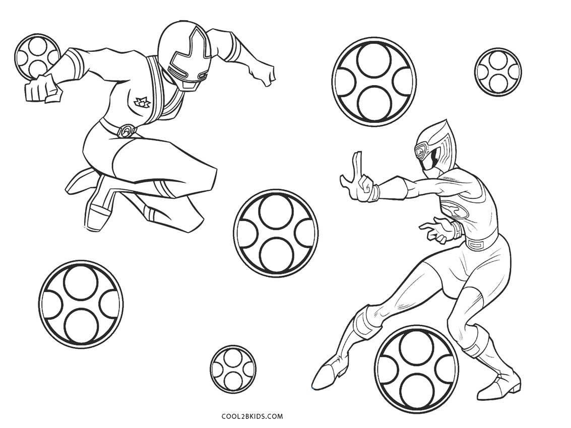 Free Printable Power Ranger Coloring