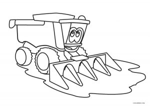 coloring book pages of tractors | Free Printable Tractor Coloring Pages For Kids | Cool2bKids