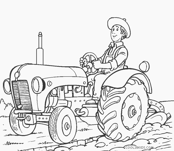 tractors coloring pages to print - photo#45