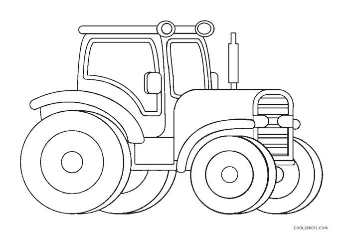 free printable tractor coloring pages for kids cool2bkids. Black Bedroom Furniture Sets. Home Design Ideas
